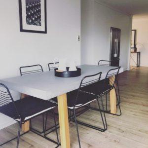 GFRC Table - Timber base